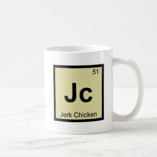Jc - Jerk Chicken Chemistry Periodic Table Symbol Mug