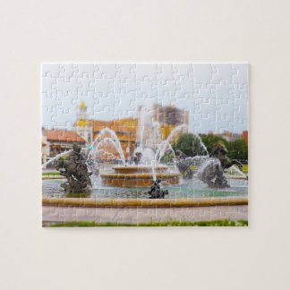 JC Nichols Fountain Country Club Plaza KC Jigsaw Puzzle