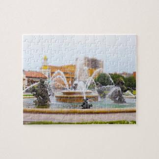 JC Nichols Fountain Country Club Plaza KC Jigsaw Puzzle