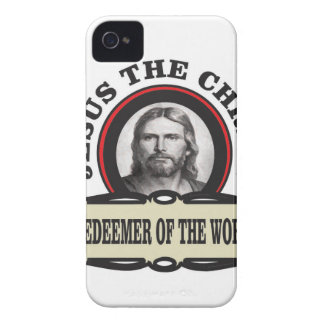 JC redeemer of the world Case-Mate iPhone 4 Case