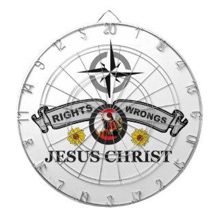 JC rights wrongs Dartboard