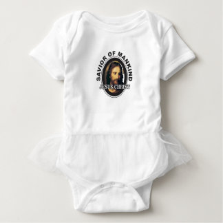 JC savior of mankind Baby Bodysuit