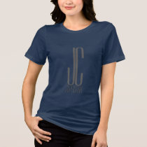 JC SuperStar - in blue relax fit T-Shirt