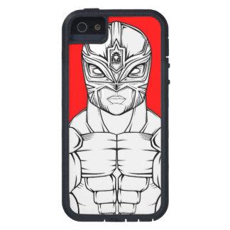 JCAG Designs Luchador (Red) Phone Design iPhone SE/5/5s Case