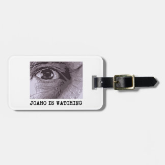 JCAHO is Watching Luggage Tag