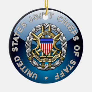 JCS Special Edition Double-Sided Ceramic Round Christmas Ornament