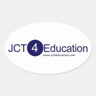 JCT4Education Memorabillia Oval Sticker