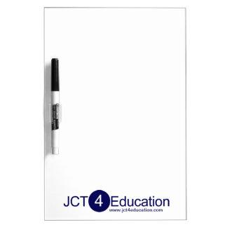 JCT4Education secan al tablero del borrado Pizarras
