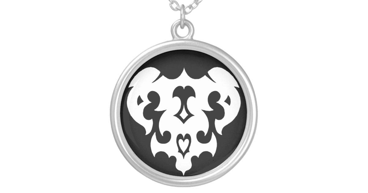 Jd Carreras Designs Warrior Symbols Ares Silver Plated Necklace