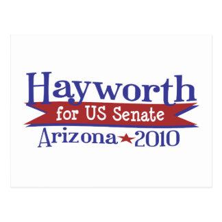 JD Hayworth 2010 for US Senate Arizona Postcard