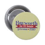 JD Hayworth 2010 para el senado Arizona de los E.E Pin Redondo 5 Cm