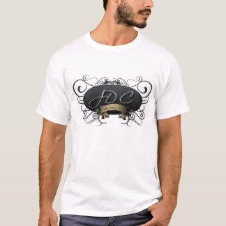JDC Logo Mens Melange Ringer T-Shirt