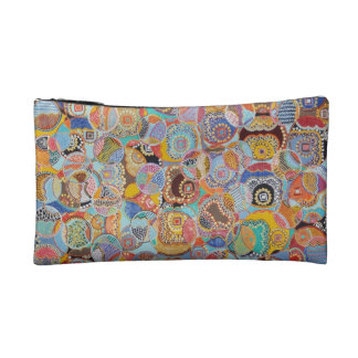 JDD 'Quilted Bubbles' Cosmetic Case