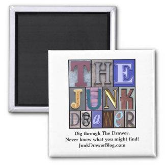 JDLogo, Dig through The Drawer. Ne... - Customized Fridge Magnet