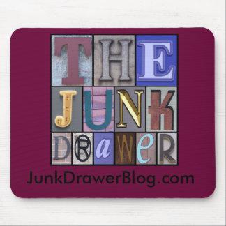 JDLogo, JunkDrawerBlog.com Mouse Pad