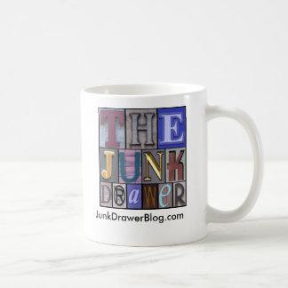 JDLogo, JunkDrawerBlog.com Classic White Coffee Mug