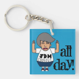 """JDM Cookout: """"Why So USDM?"""" Key Chain"""