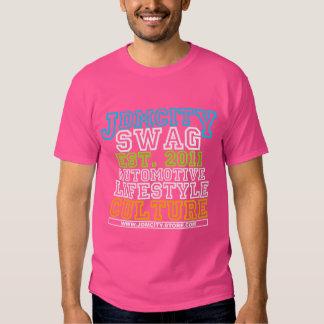 JDM University Pink Mens Shirt