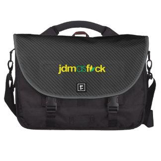 jdmasfck - soshinoya del jdm en falsa fibra de bolsas de ordenador