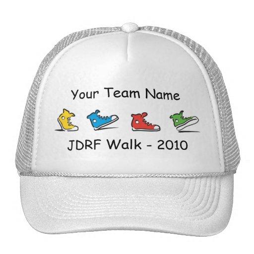 JDRF Walk team trucker hat 2010