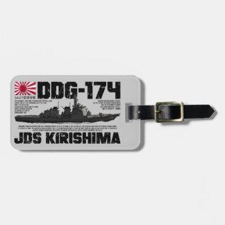 JDS Kirishima (DDG-174) Etiqueta De Equipaje