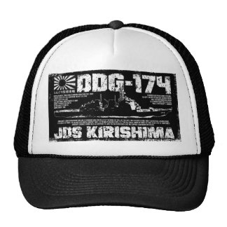 JDS Kirishima (DDG-174) Gorras De Camionero
