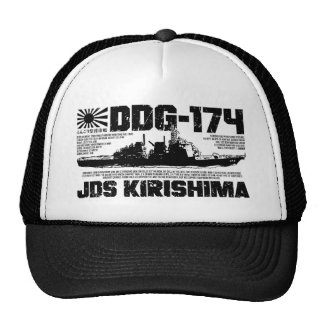JDS Kirishima (DDG-174) Gorro De Camionero