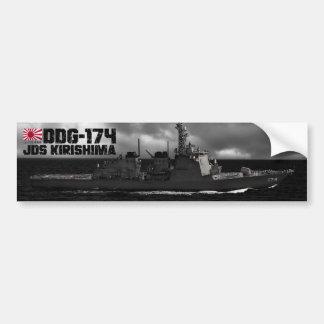 JDS Kirishima (DDG-174) Pegatina Para Auto