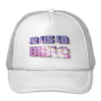 Je lis la Bible 25 3D Trucker Hat