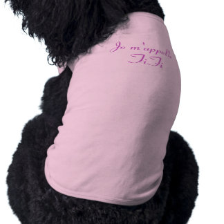 Je m'appelle FiFi - My name is FiFi - French Pet Tshirt