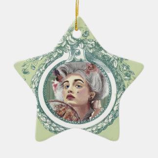 Je Ne Regrette Rien Star Ornament