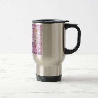 Je ne sais quoi  - French Phrase - Paris Theme art 15 Oz Stainless Steel Travel Mug