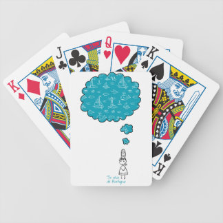 Je reve de Bretagne (I dream about Brittany) Bicycle Playing Cards