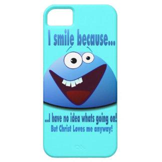 Je souris parce que… V2 iPhone SE/5/5s Case