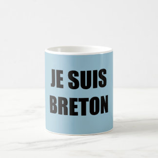 JE SUIS BRETON CLASSIC WHITE COFFEE MUG