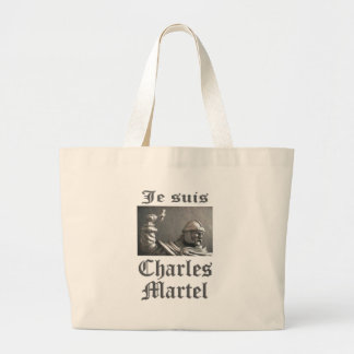 Je Suis Charles Martel (imagen) Bolsa Tela Grande
