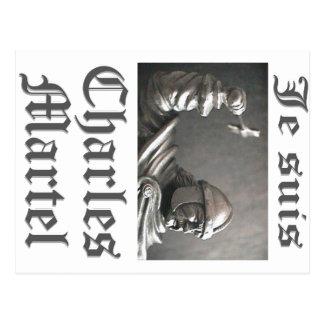 Je Suis Charles Martel (imagen) Tarjetas Postales
