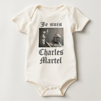 Je Suis Charles Martel (picture) Baby Bodysuit