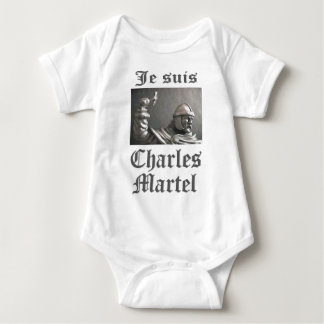 Je Suis Charles Martel (picture) Infant Creeper