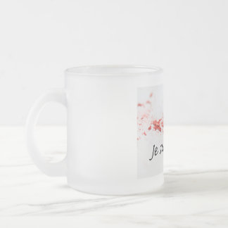Je Suis Charlie 10 Oz Frosted Glass Coffee Mug