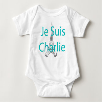 Je suis CHARLIE Baby Bodysuit