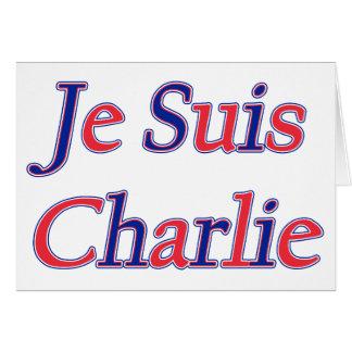 Je Suis Charlie Card