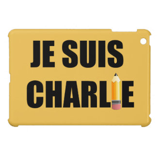 JE SUIS CHARLIE CASE FOR THE iPad MINI
