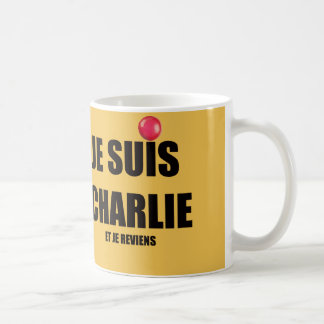 JE SUIS CHARLIE COFFEE MUG