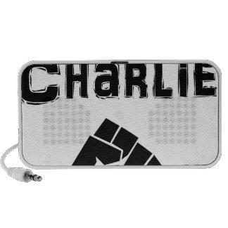 Je Suis Charlie Fist Speaker