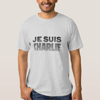 Je Suis Charlie - I am Charlie Ash T-Shirt
