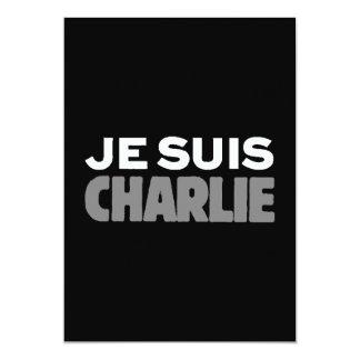 Je Suis Charlie - I am Charlie Black Card