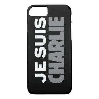 Je Suis Charlie -I am Charlie- Black iPhone 7 Case