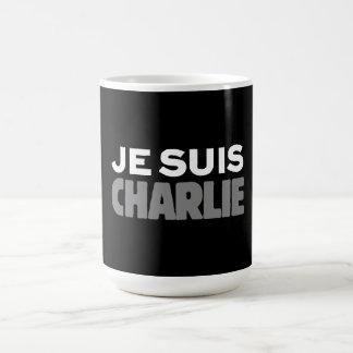 Je Suis Charlie - I am Charlie Black Classic White Coffee Mug