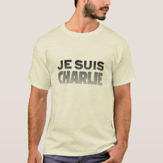 Je Suis Charlie - I am Charlie Natural T-Shirt